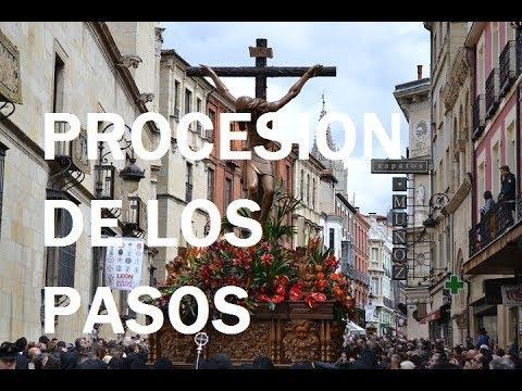 """Mira como celebran la """"Procesión de los Pasos"""" en León."""