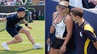 اذا كنت تحب كرة التنس لا تشاهد هذا الفيديو... أنظروا ما حدث !!
