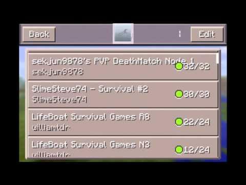 Como jugar minecraft pocket edition 0 7 2 0 7 3 en multijugador