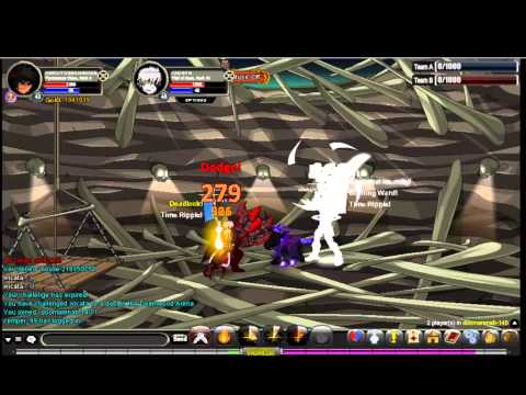 AQW - Pyromancer vs. Thief Of Hours