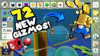 72 NEW Gizmos And Extras That NEED To Come To Mario Maker 2!!!