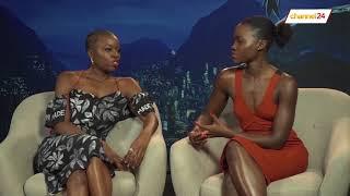 Black Panther's Danai Gurira and Lupita Nyong'o chat to Channel24
