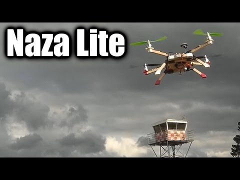 Review: DJI Naza Lite multirotor flight controller