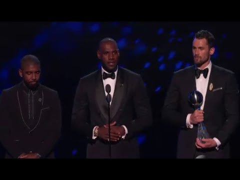 ESPYS 2016 - LeBron James Speech On Cleveland's Best Moment