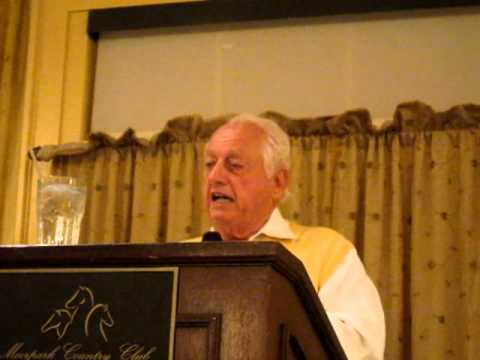 Tommy Lasorda tells funny story about motivating baseball players in November 2011