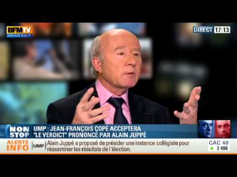 UMP : Olivier Mazerolle s'nerve sur le plateau de BFM