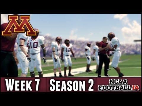 NCAA Football 14 Dynasty: Week 7 @ Northwestern (Season 2)