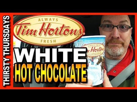 Thirsty Thursdays - Tim Hortons White Hot Chocolate Review