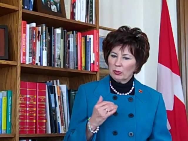 Meet Senator Claudette Tardif