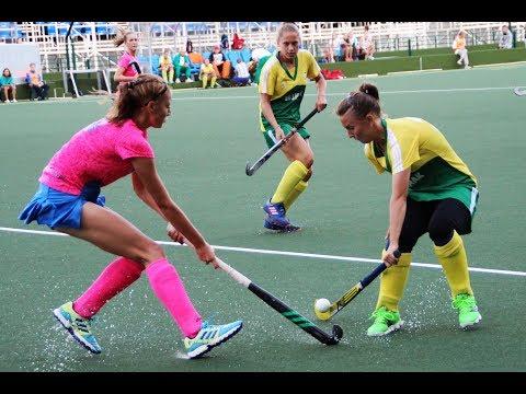 Хоккей на траве. Суперлига 2018. Женщины. Метрострой-Коммунальщик