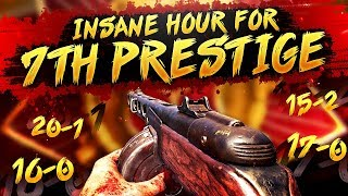 COD WW2 - INSANE Hour of SnD for 7th Prestige! (104-6 in 7 games)