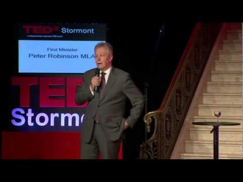 Rt Hon Peter Robinson MLA at TEDxStormont