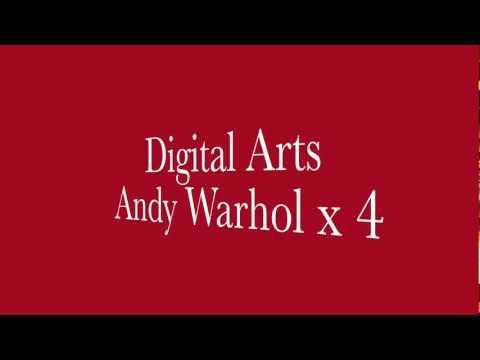 Andy Warhol x 4