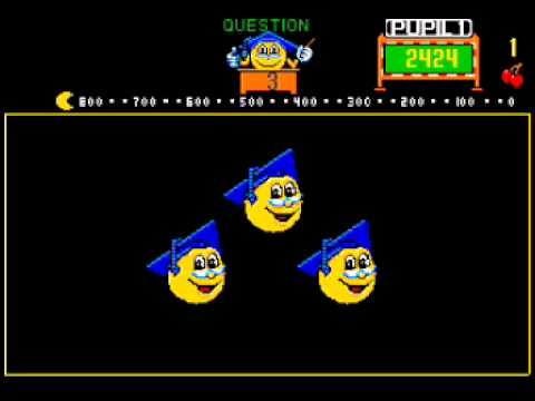 PROFESSOR PACMAN  ARCADE CLASSIC RETRO MAME VIDEO GAME  DAVE NUTTING 1983