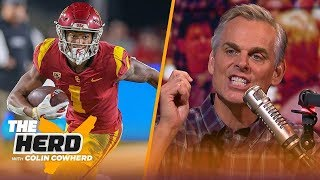 Colin Cowherd picks Week 1 college football in the first edition of the Marquee 3 | CFB | THE HERD