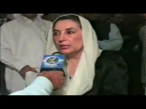 Benazir Bhutto interview by Raza Abidi (her second last in UAE interview before her death)