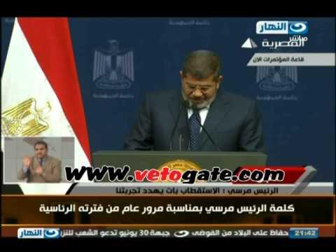 بالفيديو مرسي أخطأت في أشياء كثيرة وتصحيح المسار واجب
