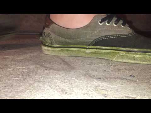 Trashed vans shoeplay