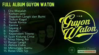 Full Album Guyon Waton 2018 Terbaru