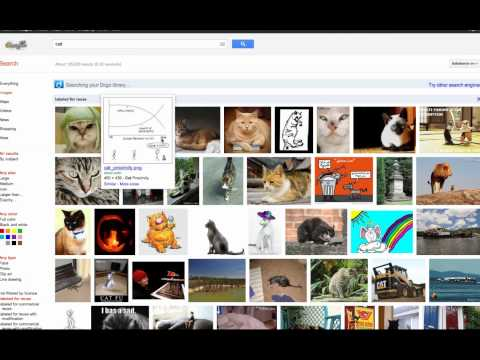 Finding the Advanced Google Image Search - January 2012. A video response to ...