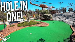TAKING ON THE CHALLENGES AT MAYDAY GOLF! LUCKY MINI GOLF HOLE IN ONE AND MORE!
