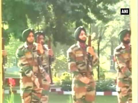 Kupwara encounter: Wreath laying ceremony of soldier Anup Kumar Thapa held - ANI News
