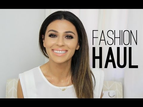 Fashion Haul | Clothes Shoes + Bags