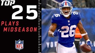 Top 25 Plays of 2018 Midseason Edition | NFL Highlights