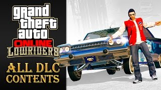 GTA Online Lowriders Update [All DLC Contents]