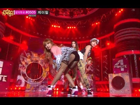 [HOT] Comeback Stage, 4minute - What's your Name? 포미닛 - 이름이 뭐예요? Music core 20130427