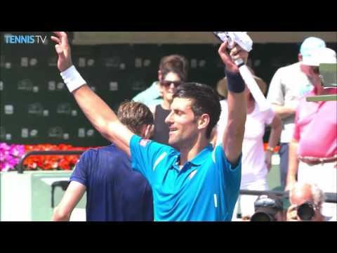 Djokovic Too Good For Goffin Miami Open 2016 SF Highlights