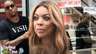 Wendy Williams HUSBAND is BROKE & caught SELLING Wendy's JEWELRY while promoting Sharina's STORE!