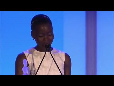 Oscar Winner Lupita Nyong'o Speech on Black Beauty Essence Black Women In Hollywood Award #womensday