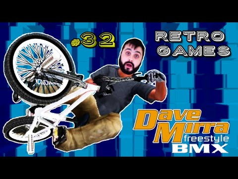 RETRO GAMES #32 - Dave Mirra Freestyle BMX (PS1)
