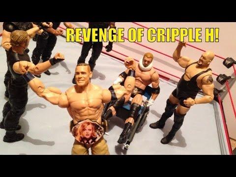 GTS WRESTLING: Naked and Afraid! WWE action figure matches animation Mattel elite toys figures match