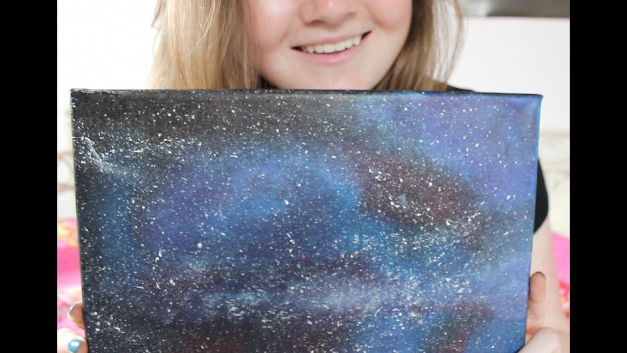 Galaxy Watercolor Tutorial Galaxy Painting Tutorial