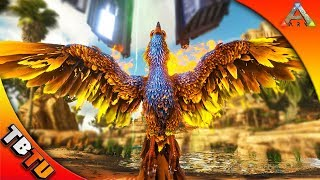 ARK PHOENIX TAMING! IS IT WORTH IT? HOW TO TAME AND WHERE TO FIND! Ark: Survival Evolved