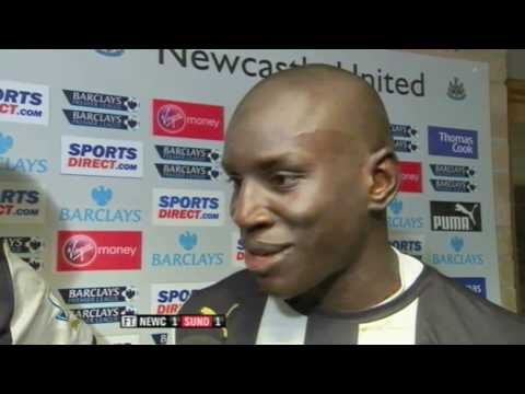 Shola Ameobi: 'Sunderland made it tough for us today'