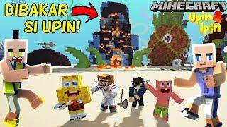 UPIN IPIN PERGI KE BIKINI BOTTOM :V - Minecraft Lucu