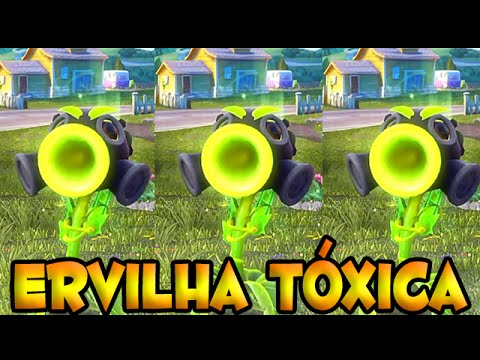 Plants vs Zombies Garden Warfare  [PC] - Testando a Ervilha Toxica.