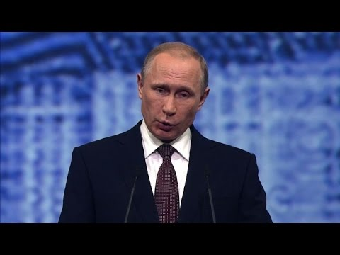 Putin makes pitch for better Europe ties as economy suffers