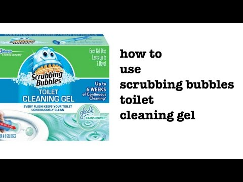 How to use Scrubbing Bubbles Cleaning Gel