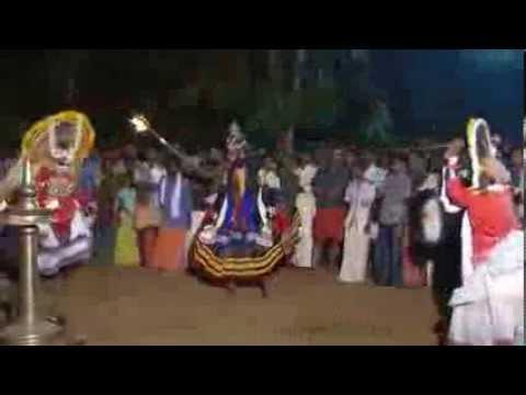 Mudiyett - Hypnotic Ritual & Theatrical Dance Of Kerala Iv video