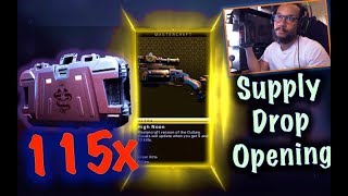 I OPENED 115 SUPPLY DROPS in Black Ops 4 (No COD POINTS USED)