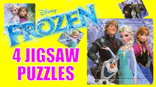 Disney Frozen Jigsaw Puzzle Featuring Elsa, Anna, Olaf, Kristoff, and Sven