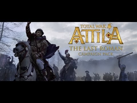 Total War: ATTILA- The Last Roman Campaign Pack Trailer  PEGI UK