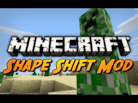 Minecraft: Shape Shifter Mod! (1.2.5 Mod Review)