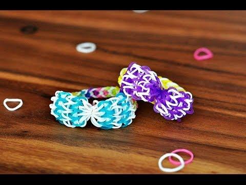 Bow Tie Stitch Rainbow Loom Mini Bow Tie Rainbow Loom