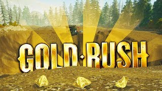 Digging a GIANT GOLD HOLE and 100% CLEANOUT!! - Gold Rush: The Game Gameplay