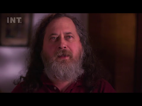 Why is free software important?  Richard Stallman - in INT's ENLIGHTENMENT MINUTES.